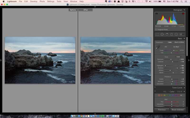 How to create HDR images without HDR using Lightroom - Point Lobos California