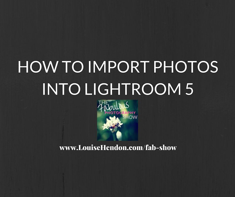 featured image - How to Import Photos Into Lightroom 5