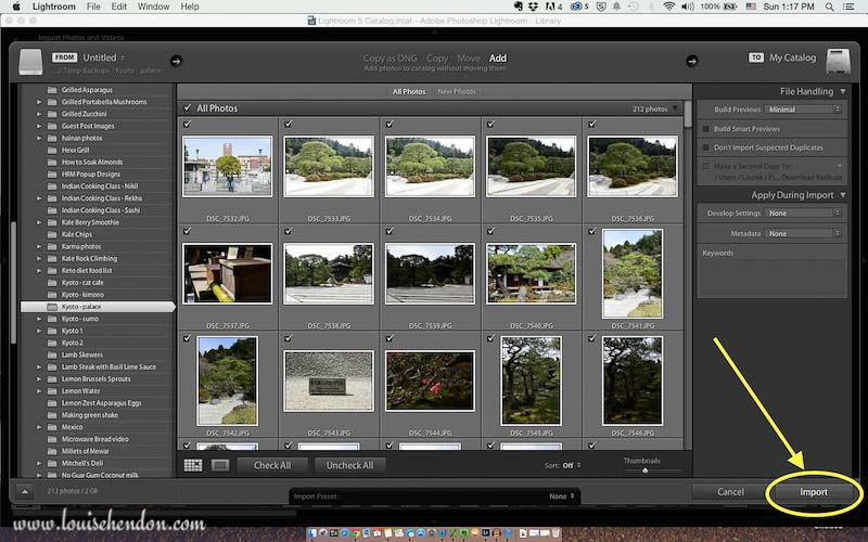 adobe photoshop lightroom tutorial photo - how to import photos into lightroom screenshot 6