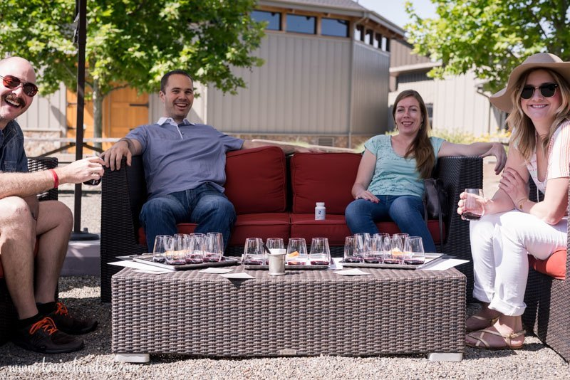 photographs from paradux winery - review