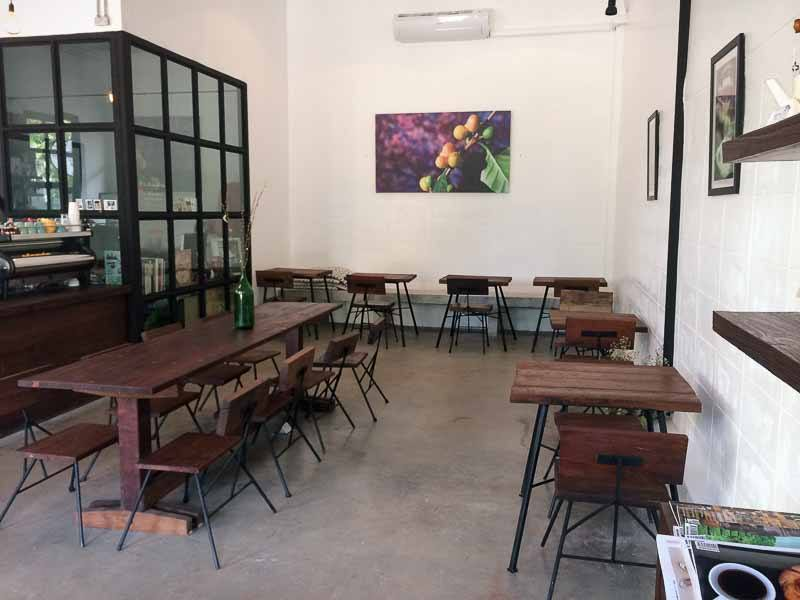 Cotton Tree Cafe at Green Hill Apartments, Chiang Mai, Thailand