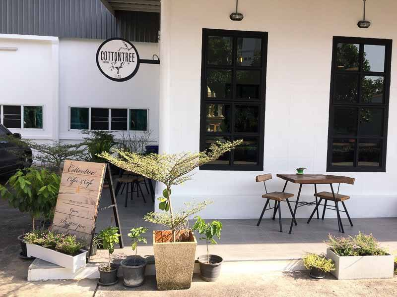 CottonTree Cafe at Green Hill Apartments, Chiang Mai, Thailand