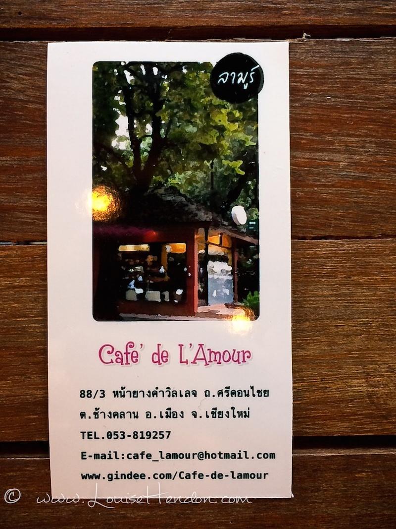 cafe de l'amour chiang mai thailand