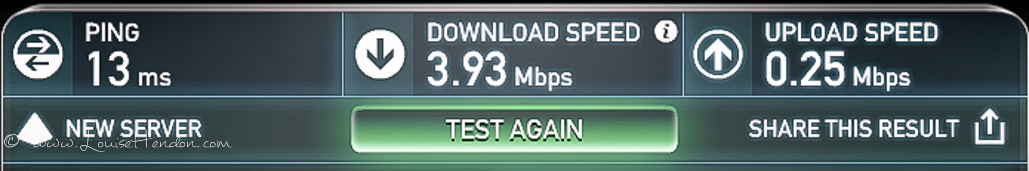 cafe de l'amour chiang mai thailand internet wifi speed test