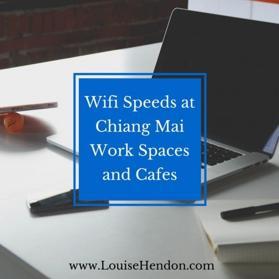 Wifi Speeds at Chiang Mai Work Spaces and Cafes