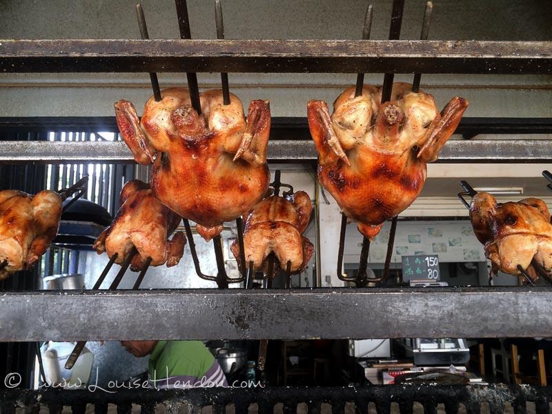 The roast chicken at SP Chicken