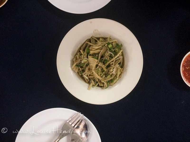 bamboo salad sp chicken restaurant chiang mai