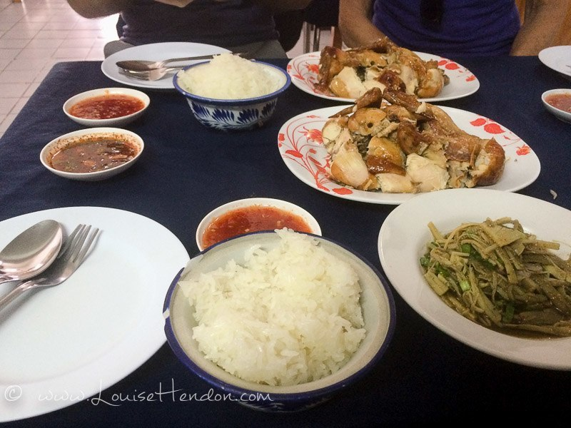sp chicken meal in chiang mai thailand