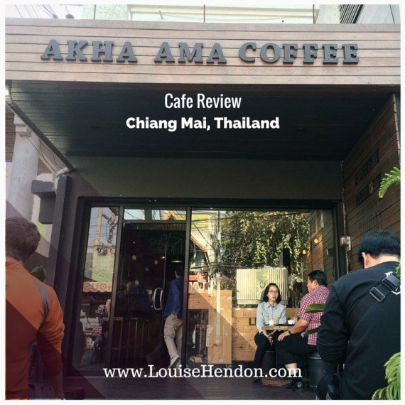 Akha Ama Coffee La Fattoria Cafe Review - Old Town Chiang Mai