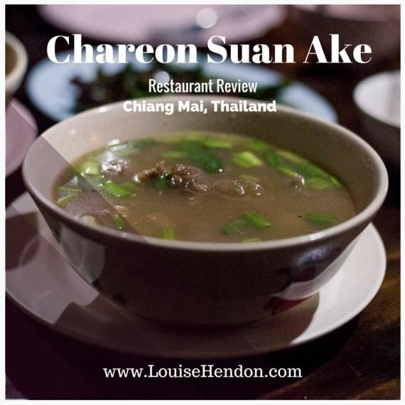 Chareon Suan Ake Restaurant in Chiang Mai, Thailand