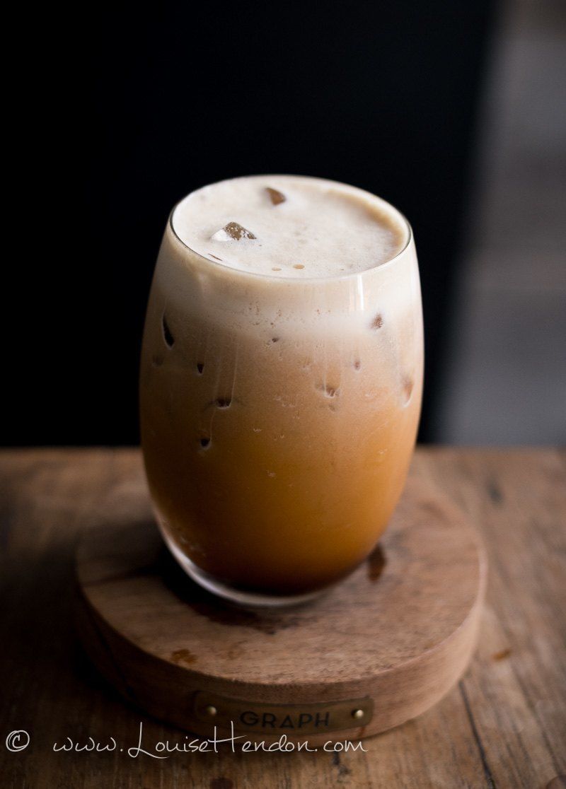 nitro coldbrew coffee at graph cafe in chiang mai thailand