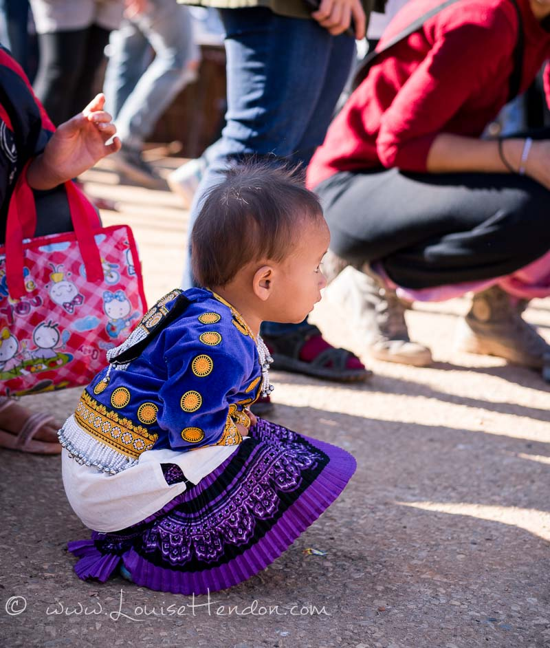 Celebrating Children's Day at a Hill Tribe in Chiang Mai, Thailand