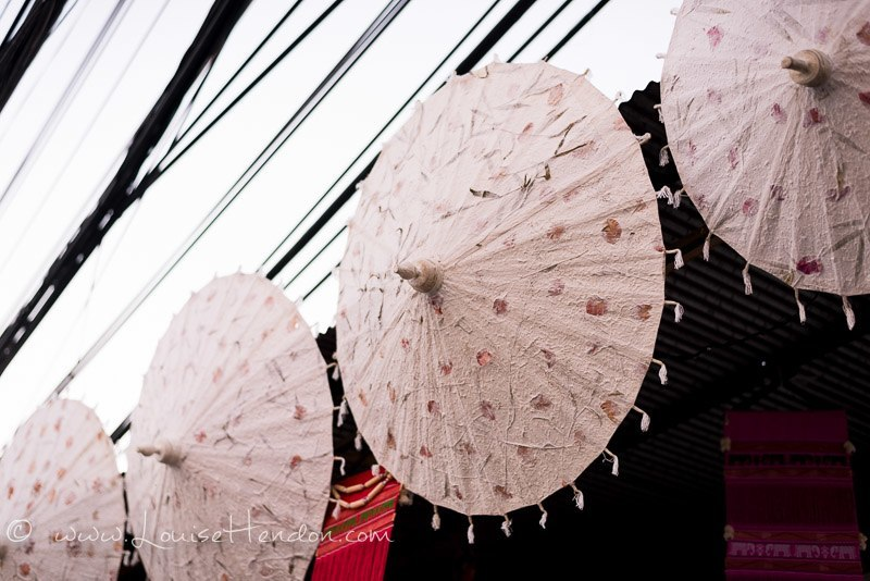 The Umbrellas at the Bo Sang Umbrella Festival in Thailand - Photos