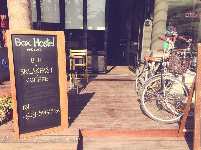 box cafe at chiang mai, thailand