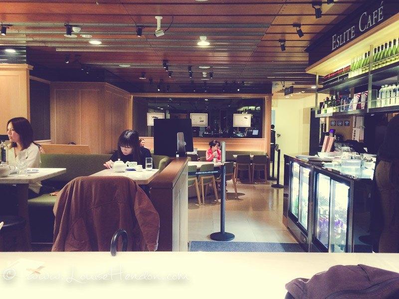eslite cafe (dun nan store) in taipei