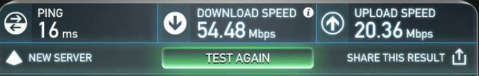 internet speed aussie cafe