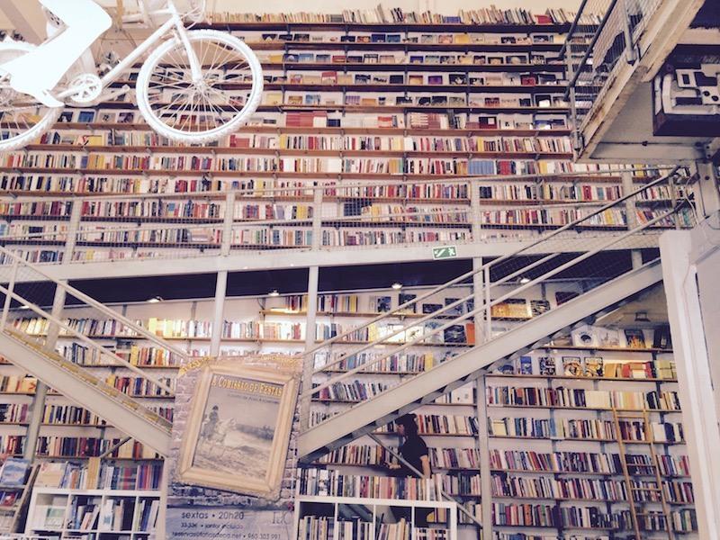 Livraria Ler Devagar - Bookstore at LX Factory Lisbon Portugal Bookcases
