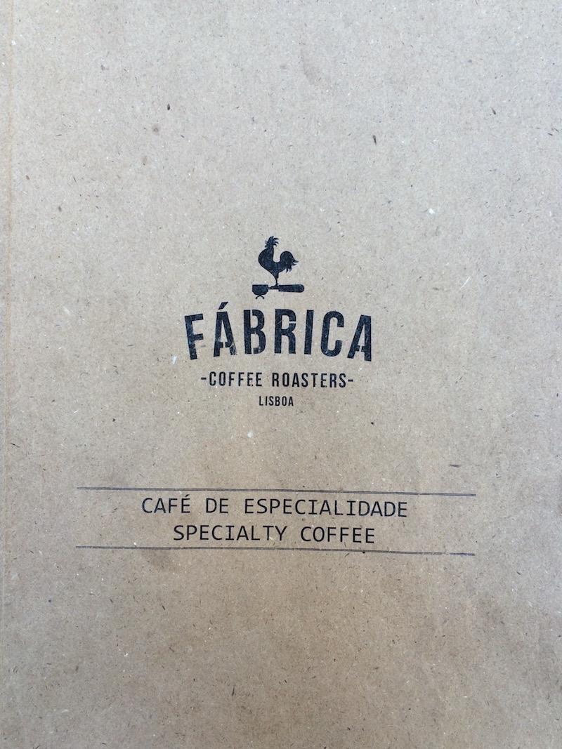 fabrica coffee roasters lisbon menu