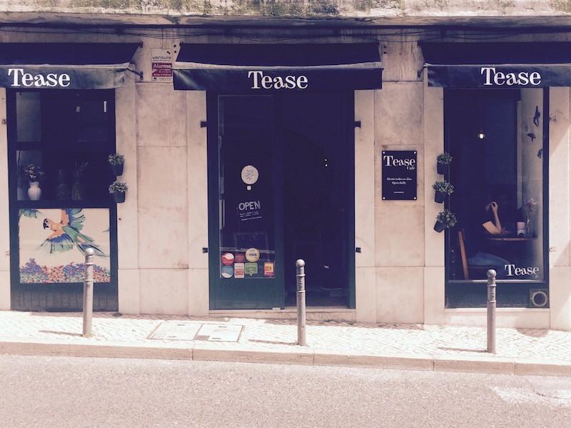 tease cafe lisbon portugal