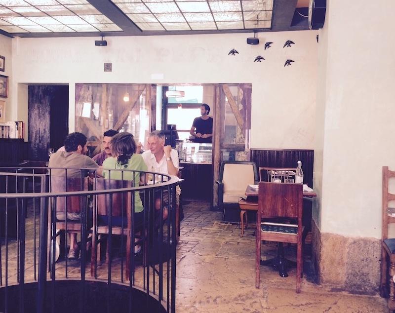 vertigo cafe lisbon portugal photo